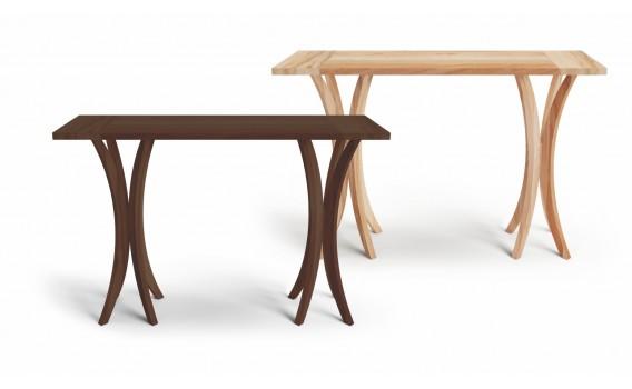 Aparador retangular com tampo em madeira