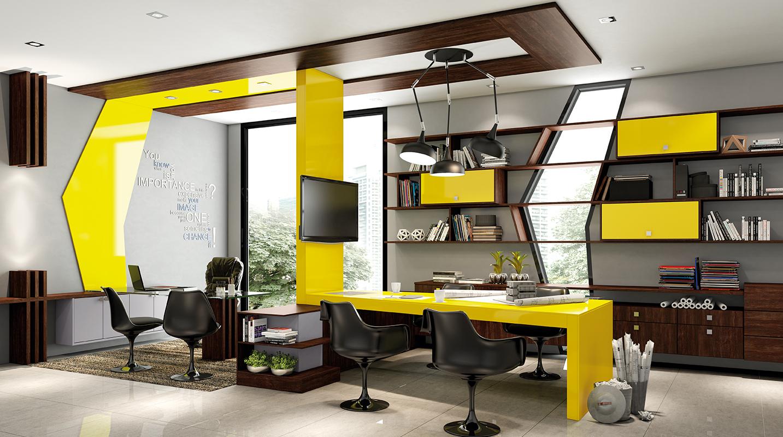 Office Amarelo Cítrico