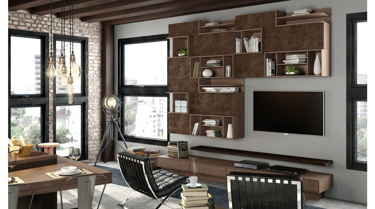Home Theater Couro