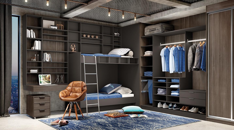 Dormitório Teen Bergerac e Grafite